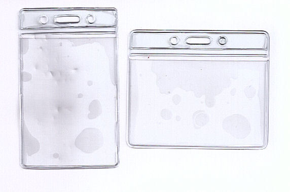 variation of 1 x flexible clear pvc id - Plastic Id Card Holder